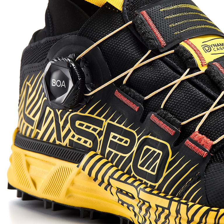 La Sportiva Cyklon Trail Running shoe with the BOA Fit System