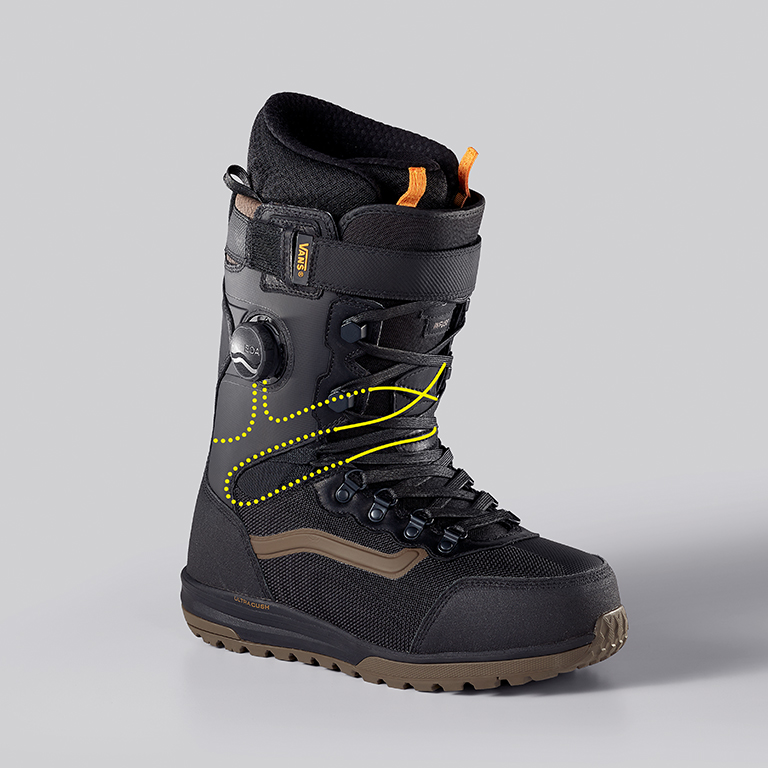Vans Infuse Snowboard Boot, Lace Path
