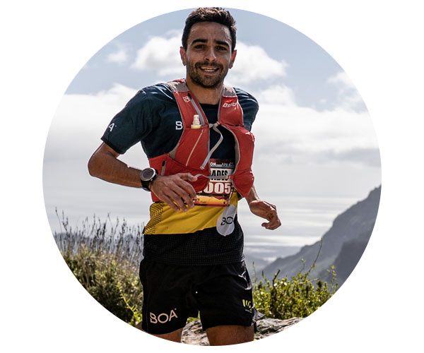 BOA Alps Team Runner Alejandro Forcades