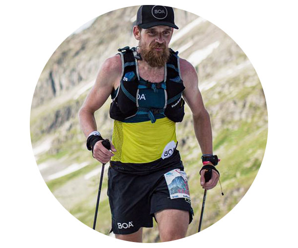 BOA Alps Team Runner Florian Grasel