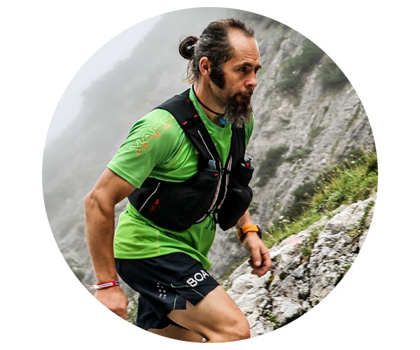 "BOA Alps Team Runner Gerald ""Sancho"" Fister"