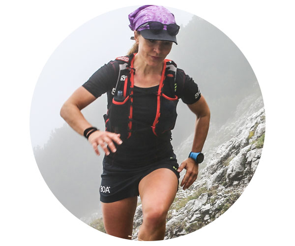 BOA Alps Team Runner Laetitia Pibis