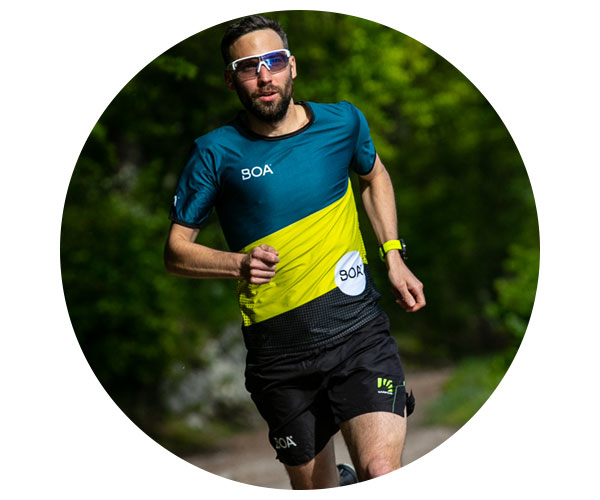 BOA Alps Team Runner Michael Kabicher