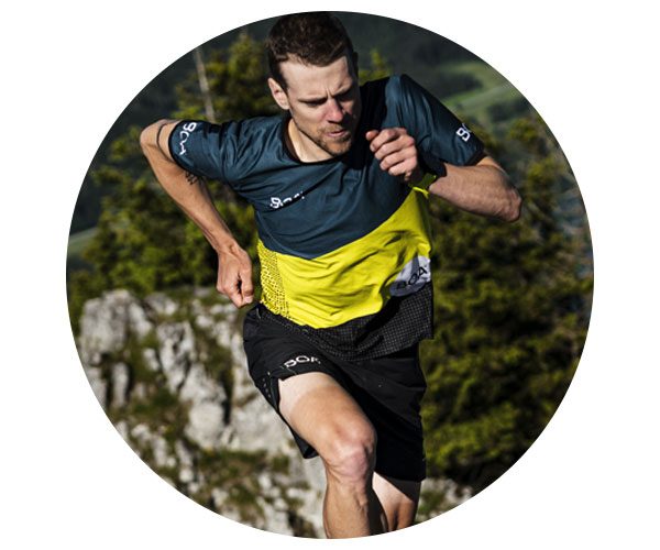 BOA Alps Team Runner Philipp Bachl