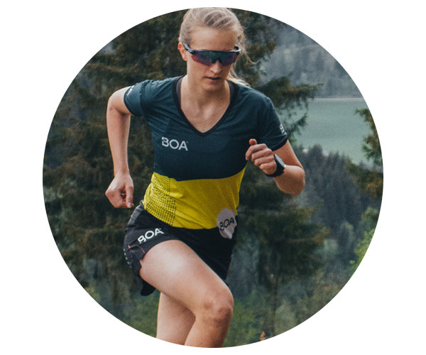 BOA Alps Team Runner Sarah Dorschlag