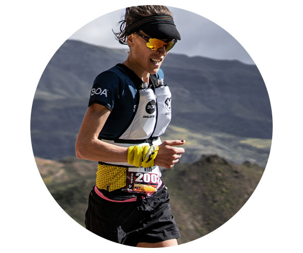 BOA Alps Team Runner Virginia Perez Mesonero